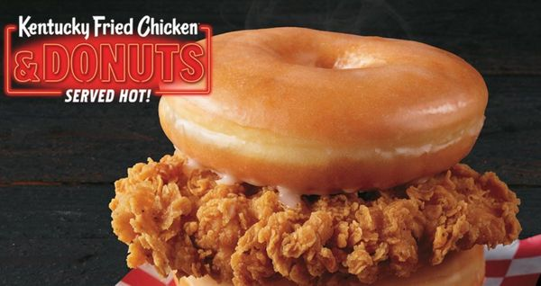 KFC Is About To Drop a Donut Bomb On The Chicken Wars