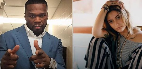 No Chill 50 Cent Shoves Michael Jackson's Kid Touching Past In Paris Jackson's Face