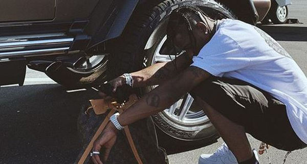 Travis Scott Stunts The Most Expensive Of G-Wagons