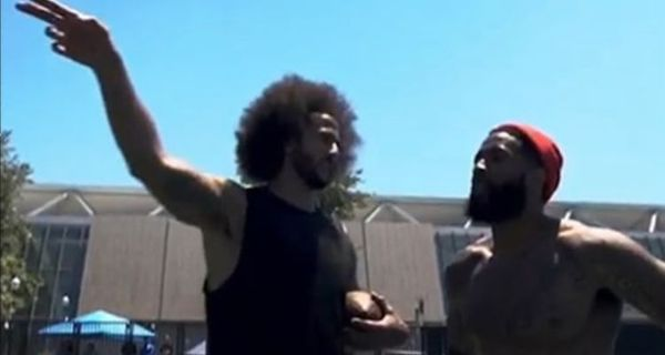 Odell Beckham Jr. Trains With Colin Kaepernick [VIDEO]