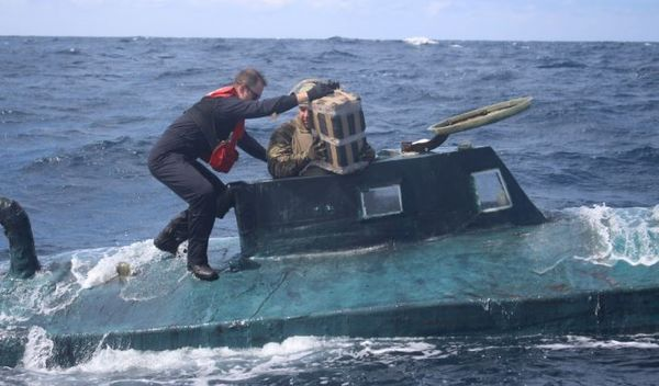 Watch Coast Guard Bust Submarine Carrying 12,000 Tons Of Cocaine