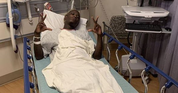 Young Thug Posts Up From the Hospital