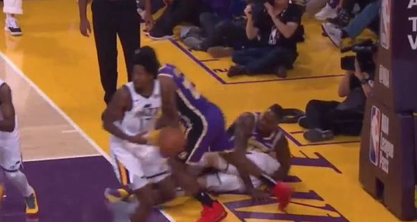Dwight Howard Accused Of Sticking His Finger Up Georges Niang's Butt [VIDEO]
