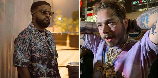 Post Malone Went To Canada And Took Nav's Chain