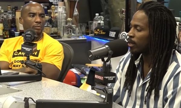 TDE Singer Sir Gets Heated At Charlamagne Tha God Over His Name