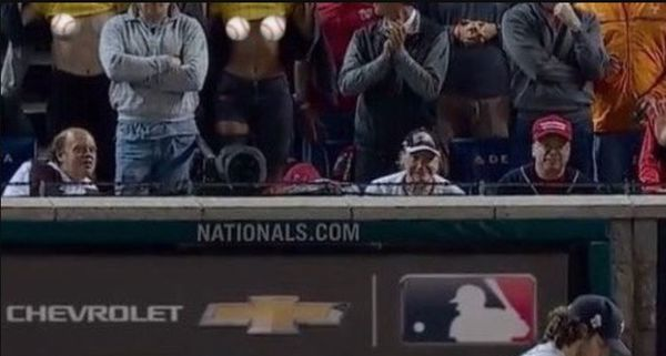 Three Female Fans Flashed Their Boobs During Game 5 Of The World Series