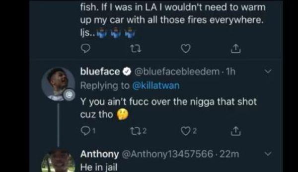 Blueface Mocked Nipsey Hussle's Artist KIlla Twan After He Threatened Him & Wack 100
