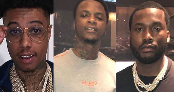 Meek Mill Weighs In On Yung Ro And Blueface Beef