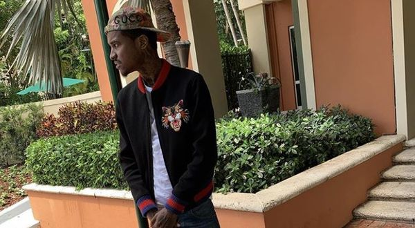 Lil Reese Shows Off Crazy Neck Wound [PHOTO]