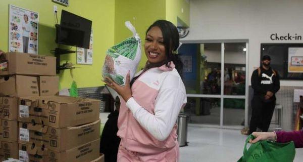 Megan Thee Stallion Donates $15,400 To Houston Food Bank