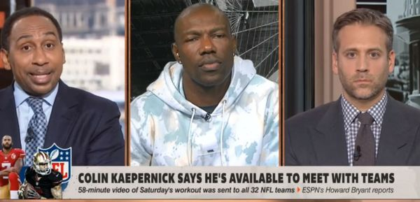 Terrell Owens Uses Max Kellerman To Pull Stephen A. Smith's Black Card Over Kaepernick