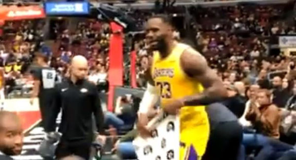 Watch LeBron James clap Back At A Heckler During Game