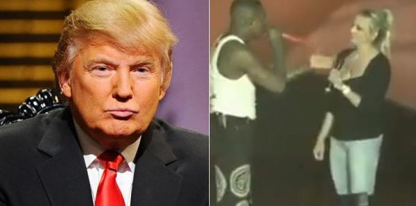 YG Brings Out Stormy Daniel During 'F*ck Donald Trump""