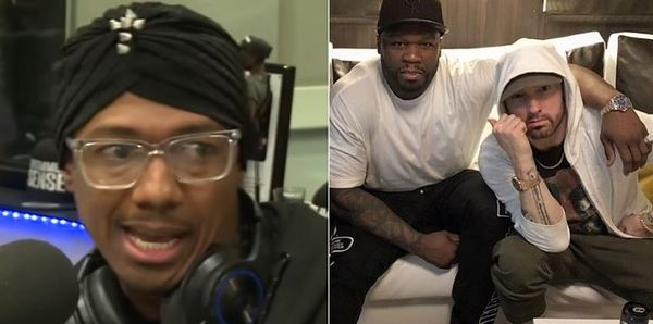 50 Cent Gets At Nick Cannon Over Eminem Gay Sex Diss