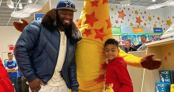 "50 Cent Rents Out Toys ""R"" Us For His Son"