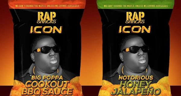 "Biggie Gets His Own ""Rap Snacks"" Flavored Chips"