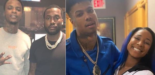 Blueface's Sister Curved TF Out of Meek Mill's Artist Yung Ro