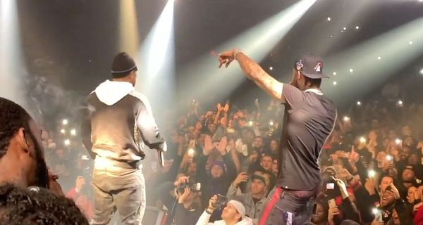 Dave East Brings Out Method Man At NYC Concert