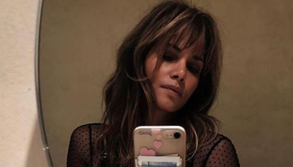 Halle Berry Shuts Down 2019 Without A Bra