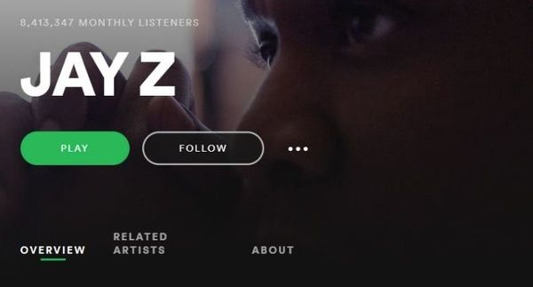 Jay-Z's Full Discography Added To Spotify
