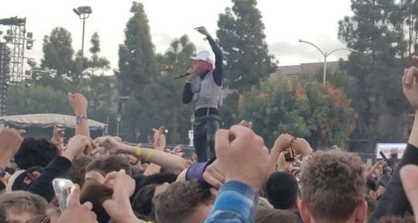Tyla Yaweh Pays Tribute To Juice Wrld & XXXTentacion At Rolling Loud