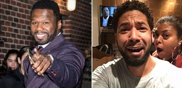 50 Cent Brings Jussie Smollett Into His Beef With Taraji P. Henson