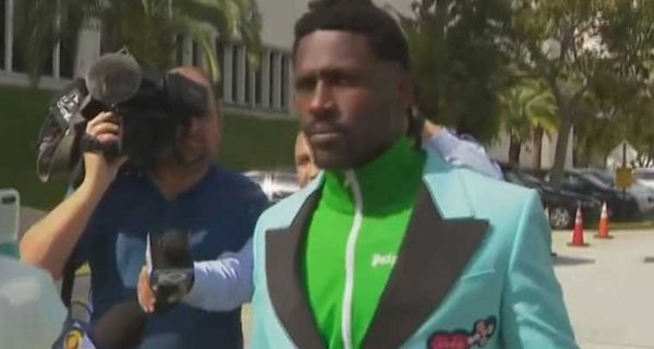 Antonio Brown Runs The Completely Wrong Way Out Of Jail