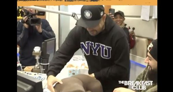 Charlamagne Gives DJ Envy The Most *Pause* Christmas Present Ever