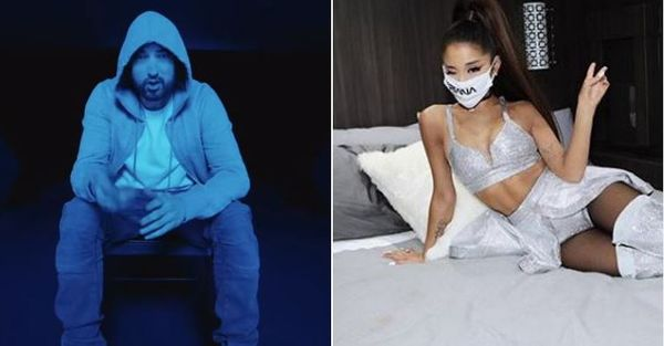 Eminem Gets Twitter Going With Ariana Grande Lyric