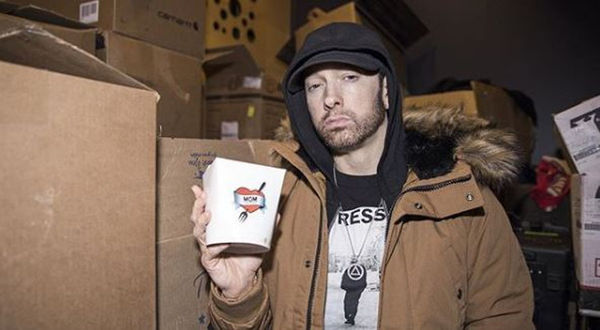 Eminem Reveals His Grindr Profile Picture