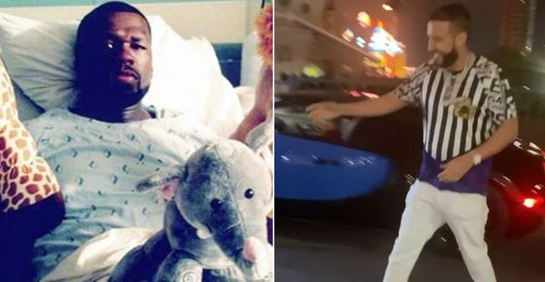 French Montana Pulls 'Snitch' Paperwork On 50 Cent; Declares Beef Over