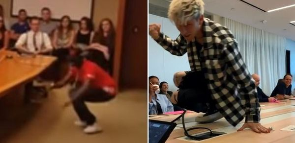 Mockery Or Nah? Machine Gun Kelly Dances For Label Like Bobby Shmurda