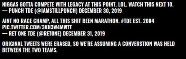 Westside Gunn Of Griselda Challenges TDE & Kendrick Lamar