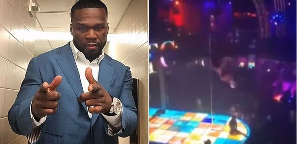 50 Cent Comments On Stripper Taking Epic Two Story Fall