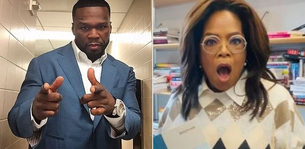 50 Cent Roasts Oprah With Michael Jackson After She Falls For No Reason