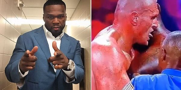 50 Cent Trolls Deontay Wilder After Tyson Fury's Blood-Licking Beatdown