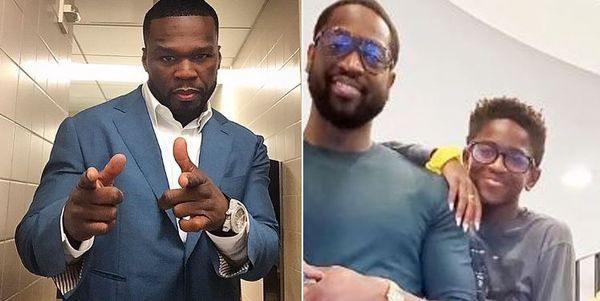 50 Cent Trolls Dwayne Wade & Daughter With R. Kelly