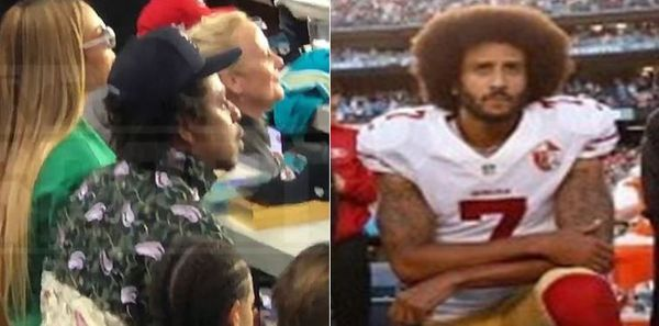 Colin Kaepernick Responds To JAY-Z & Beyonce Sitting During The Anthem