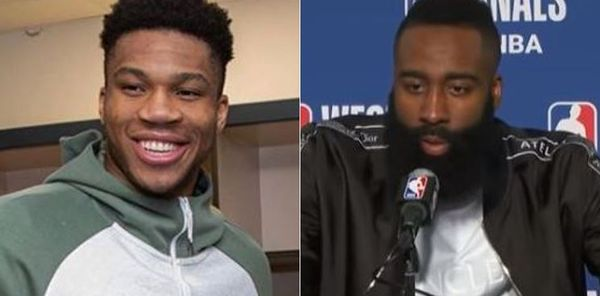 James Harden Smacks Back At Giannis Antetokounmpo After Ball Hog Joke