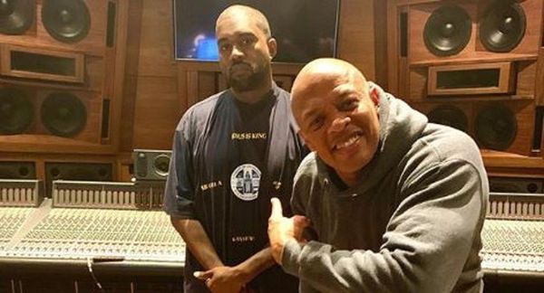"Listen To Kanye West & Dr. Dre's ""Up From The Ashes"" Single"