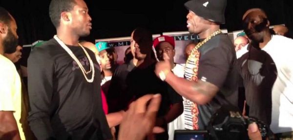 Meek Mill Seems To Respond To 50 Cent Saying He Was Ready To Punch Him