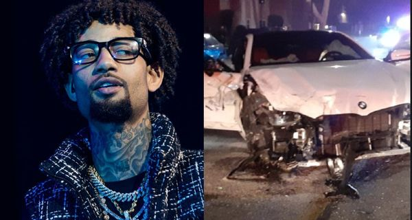 PnB Rock Totals Car During Street Race, Arrested For DUI