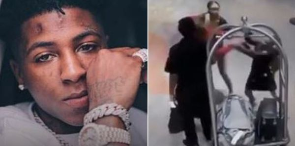 Watch Yaya Mayweather Fight NBA YoungBoy's Other Girlfriend In Front Of Hotel