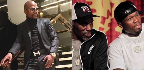 50 Cent Reacts To Floyd Mayweather's Uncle & Trainer Roger Mayweather Dying