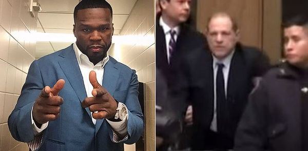 50 Cent Reacts To Harvey Weinstein's Very Long Sentence