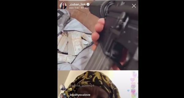 50 Cent Shows Off Lots of Money & Gun On Instagram Live