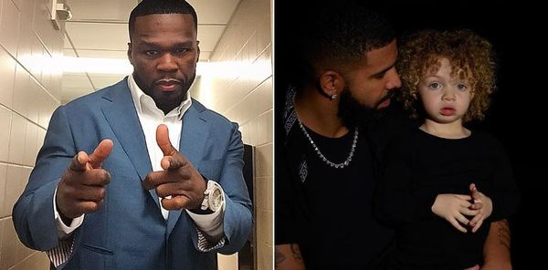 50 Cent Weighs In On Drake Finally Sharing Photo Of Adonis