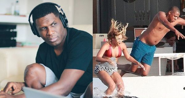 Beyonce's Pool Is the Cover Of Jay Electronica's New Album
