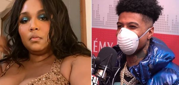 Blueface Gets A Personalized Thirst Trap From Lizzo