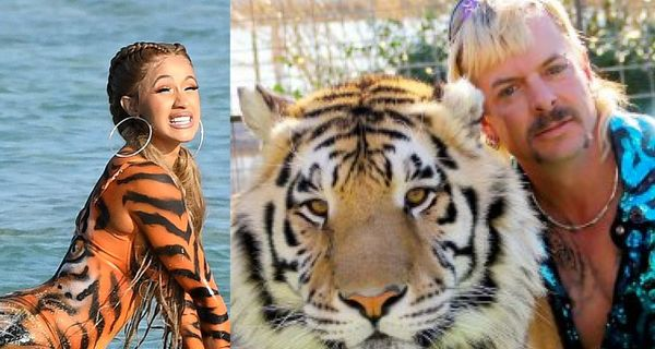 "Cardi B Attempts To Raise Money For Imprisoned ""Tiger King"" Star Joe Exotic"